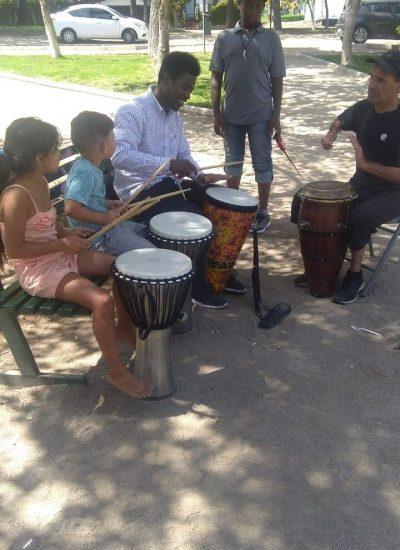Taller Percusión Haitiana Fundación SITADEL